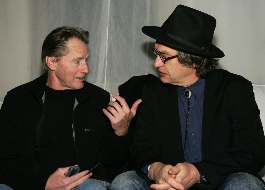 Sam Shepard and Wim Wenders at the premiere of