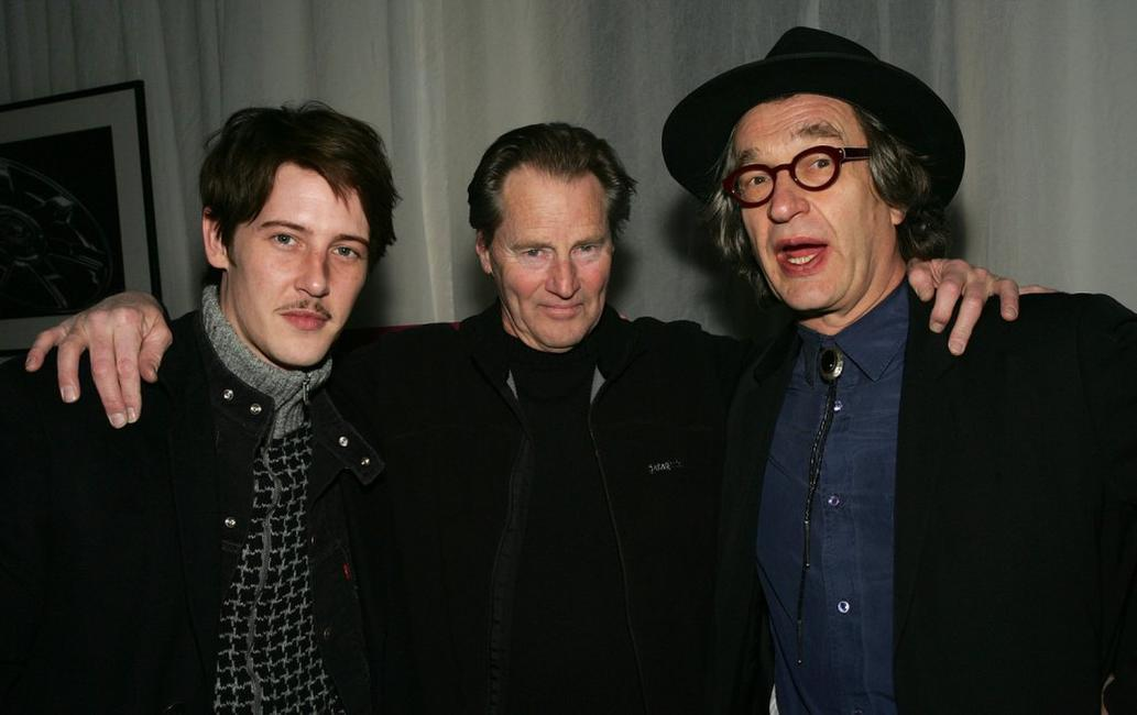 Sam Shepard, Gabriel Mann and Wim Wenders at the premiere of