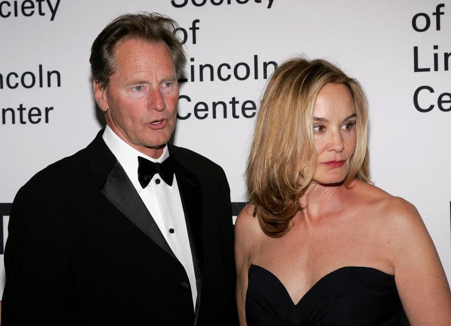 Sam Shepard and Jessica Lange at The Film Society of Lincoln Center honors Jessica Lange at Avery Fisher Hall.