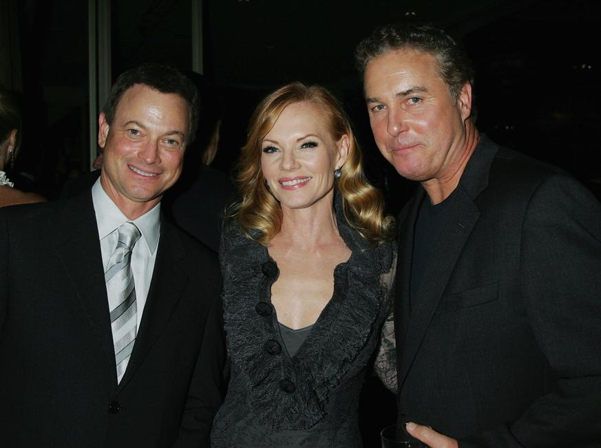 Gary Sinise, Marg Helgenberger and William L. Peterson at the Museum of Television and Radios annual Los Angeles gala.