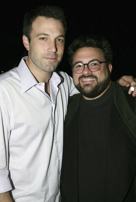 Kevin Smith and Ben Affleck at the