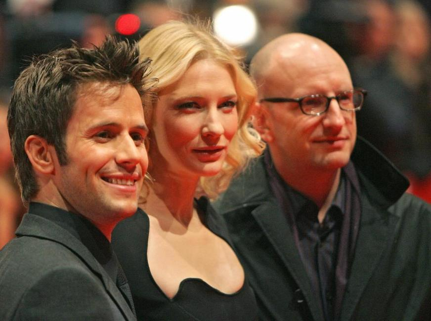 Steven Soderbergh, Cate Blanchett and Christian Oliver at the red carpet prior the screening of the movie