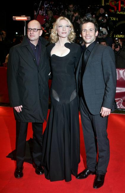 Steven Soderbergh, Cate Blanchett and Christian Oliver at the premiere of the movie