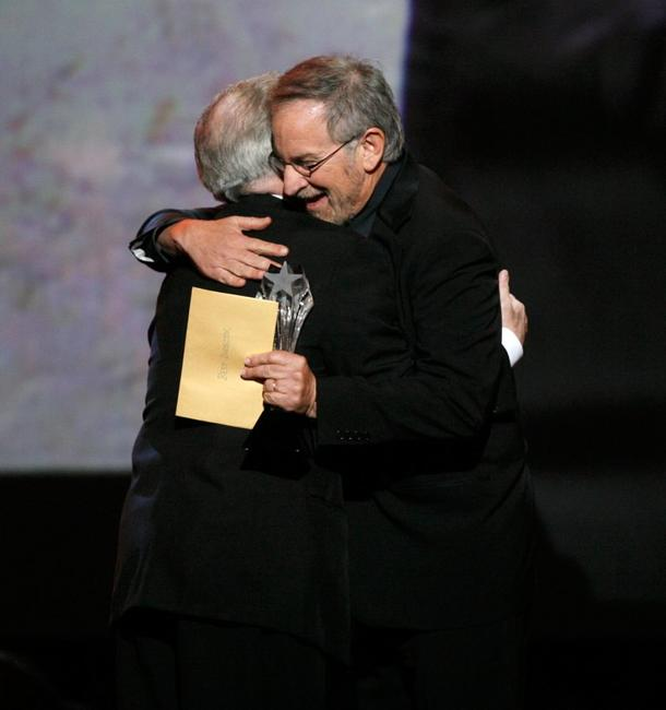 Steven Spielberg and Martin Scorsese at the 12th Annual Critics' Choice Awards.