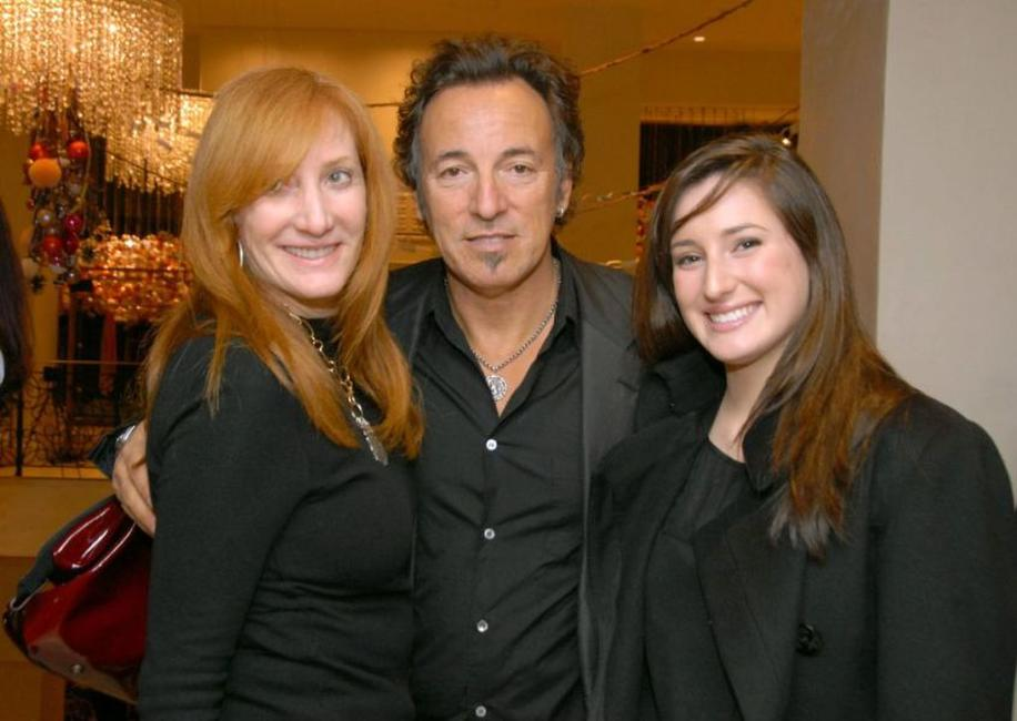 Patti Scialfa, Bruce Springsteen and Jessica Springsteen at the Equestrian Aid Foundation Benefit.