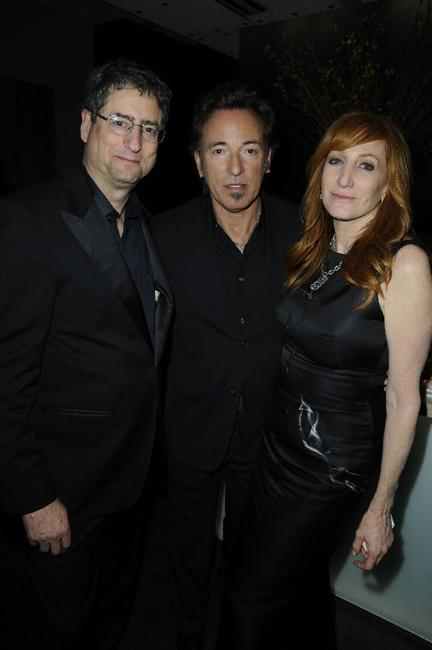 Tom Rothman, Bruce Springsteen and Patti Scialfa at the Golden Globe Party.