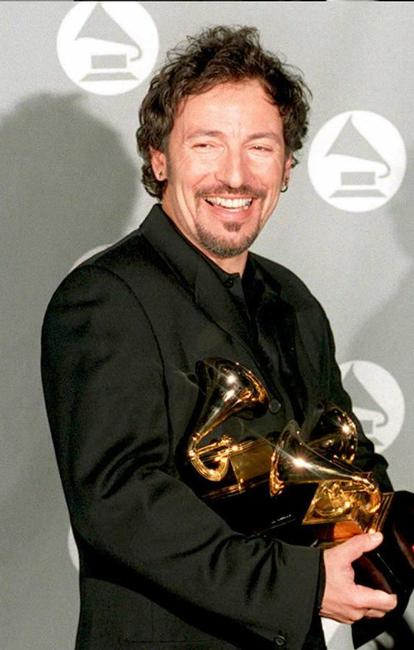 Bruce Springsteen at the Grammy Awards.