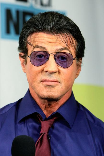Sylvester Stallone at the MySpace And MTV Tower during the Comic-Con 2010.