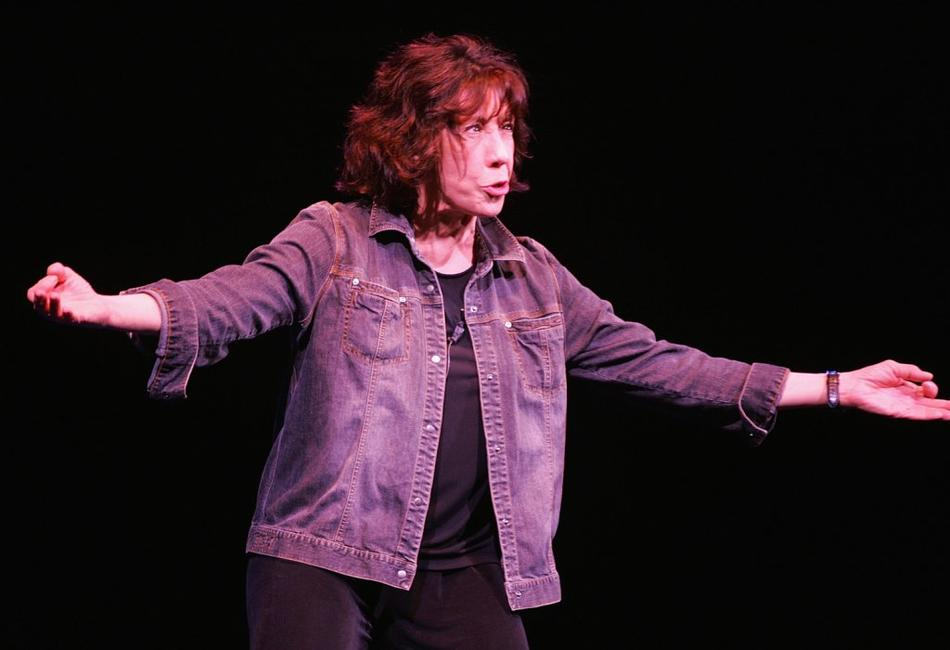 Lily Tomlin at the Mohegan Sun 10th Anniversary celebration.