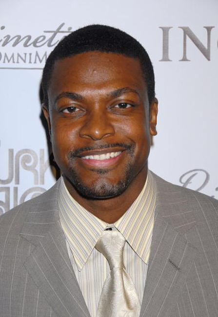 Chris Tucker at the Black Enterprises Top 50 Hollywood Power Brokers Celebration in L.A.