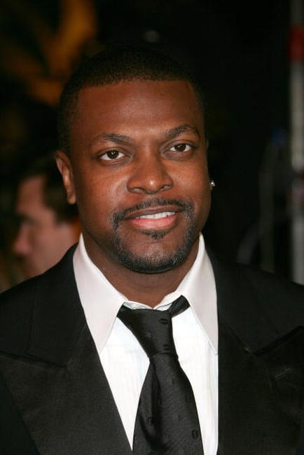 Chris Tucker at the Vanity Fair Oscar Party in West Hollywood.