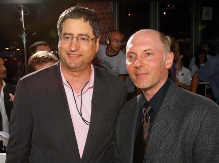 Tom Rothman and Dan Castellaneta at the Los Angeles premiere of