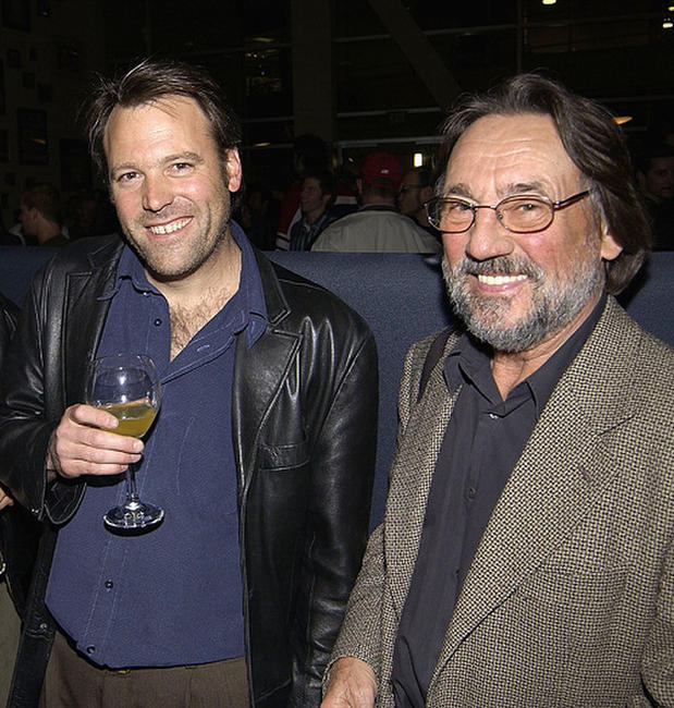 Cinematographer Wally Pfister and Vilmos Zsigmond at the 10th anniversary celebration event of