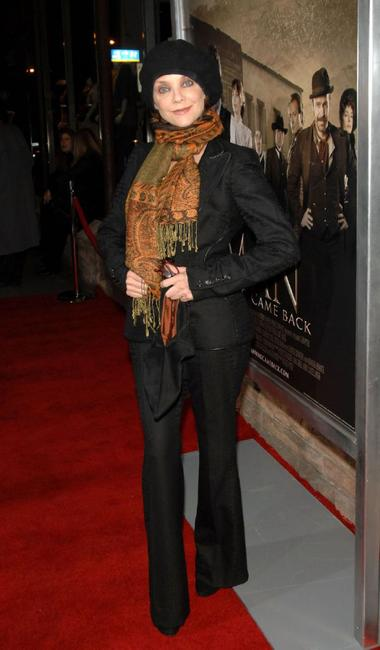 Judith Chapman at the premiere of