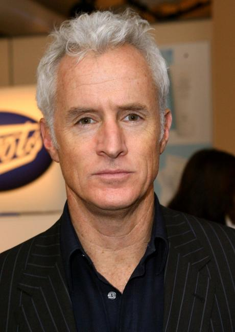 John Slattery at the fashion tents during the Mercedes-Benz Fashion Week Fall 2008.