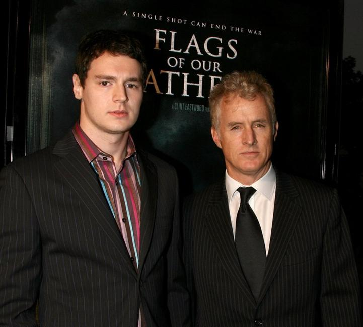 Ben Walker and John Slattery at the premiere of