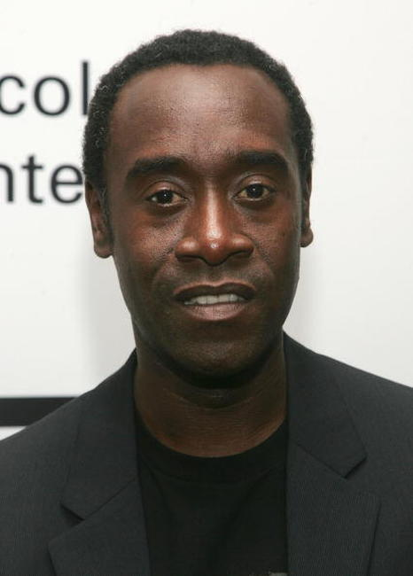 Don Cheadle at a N.Y. screening of