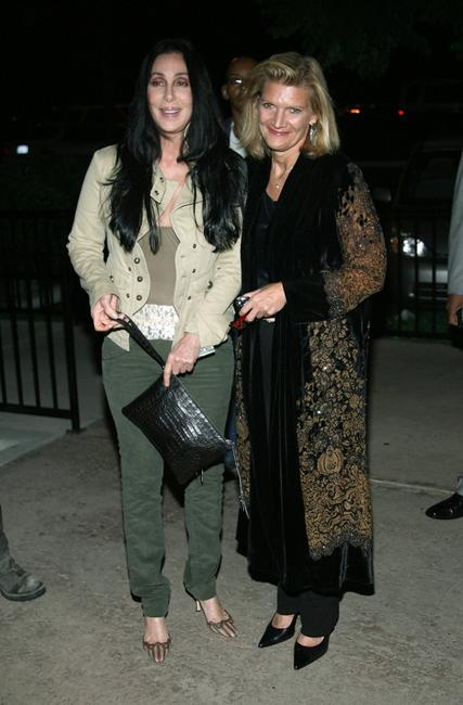 Cher and Patricia Foulkrod arrive at the premiere of