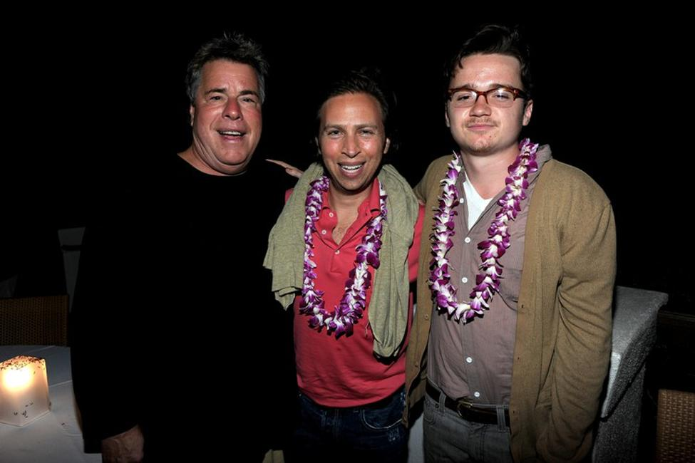 Barry Rivers, director Jonathan Segal and Dan Byrd at the premiere of