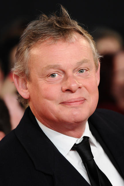 Martin Clunes at the National Television Awards 2012 in England.