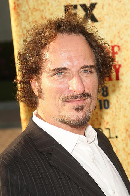 Kim Coates at the season two premiere of