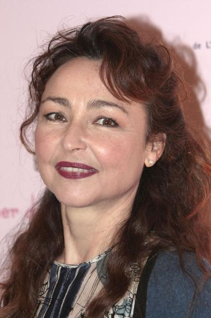 Catherine Frot at the Fouquet's restaurant in Paris.