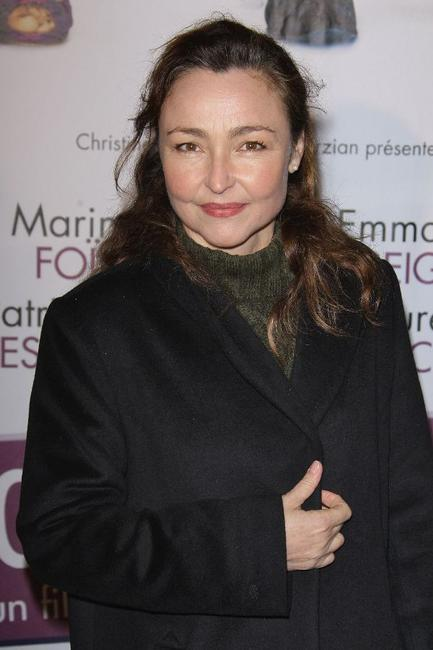 Catherine Frot at the Paris premiere of