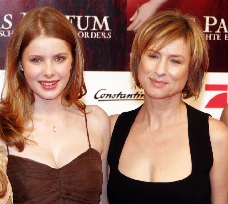 Rachel Hurd-Wood and Corinna Harfouch at the premiere of