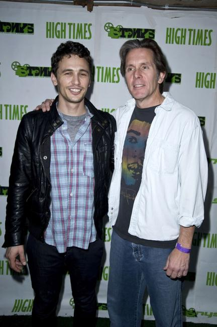 James Franco and Gary Cole at the High Times Magazine's 8th Annual Stony Awards.