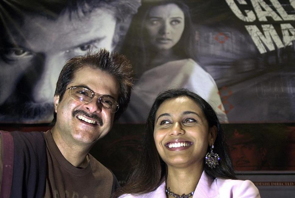 Anil Kapoor and Rani Mukherjee at the press launch of