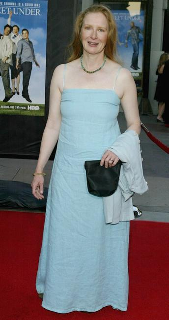 Frances Conroy at the premiere of