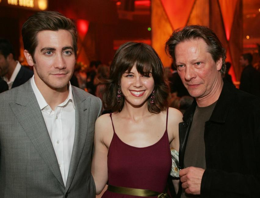 Chris Cooper, Jake Gyllenhaal and Rini Bell at the afterparty for the premiere of
