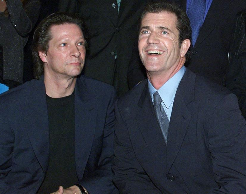 Chris Cooper and Mel Gibson at the premiere of their new film