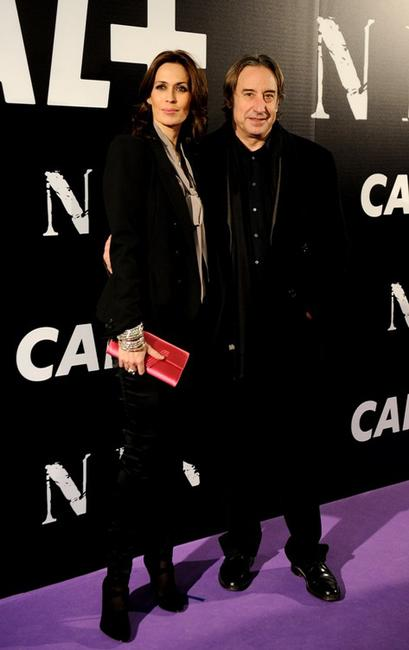 Lola Marceli and Juanjo Puigcorbe at the premiere of