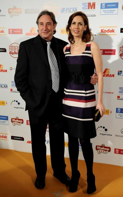 Juanjo Puigcorbe and Lola Marceli at the 14th Jose Maria Forque Cinema Awards.