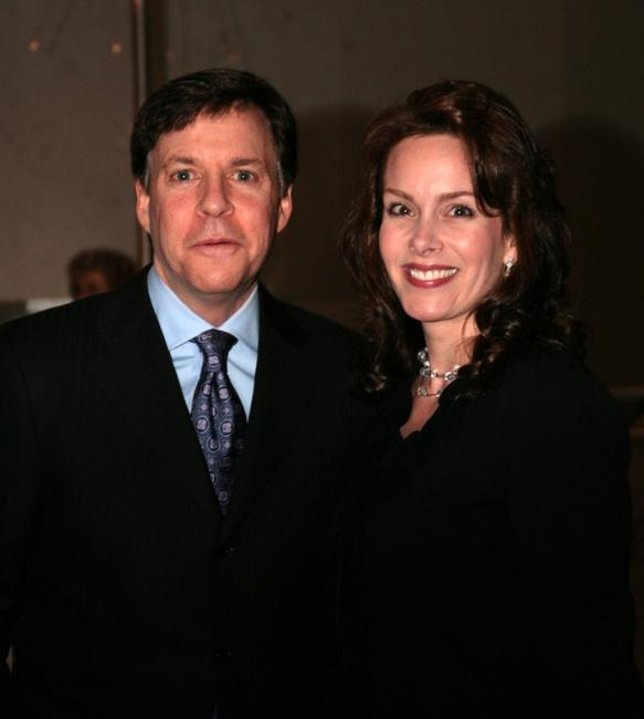 Bob Costas and Jill Sutton at the Tenth Annual Mark Twain Prize Awards.