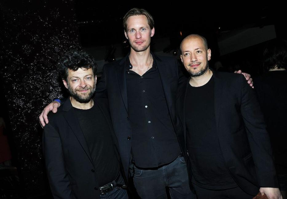 Andy Serkis, Alexander Skarsgard and director Tarik Saleh at the 2010 Tribeca Film Festival.