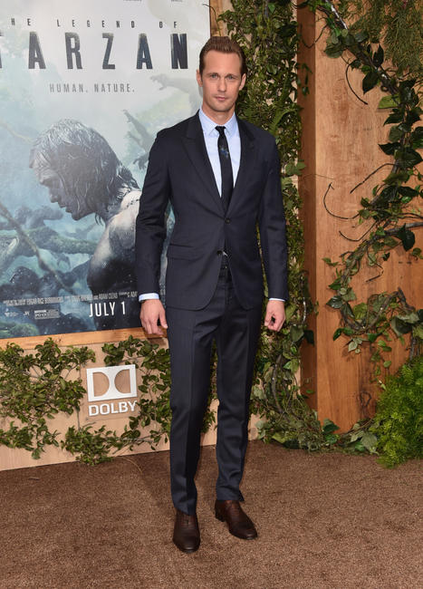 Alexander Skarsgard at the California premiere of
