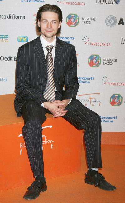 Gregory Smith at the Roma Fiction Fest 2008.
