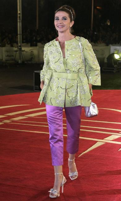 Victoria Abril at the seventh Marrakech International Film Festival.