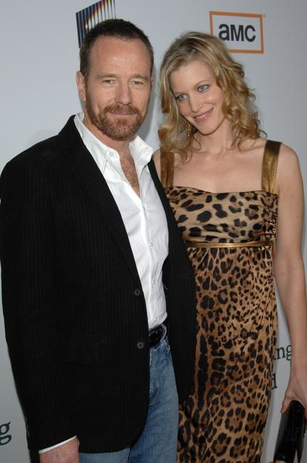 Bryan Cranston and Anna Gunn at the premiere of