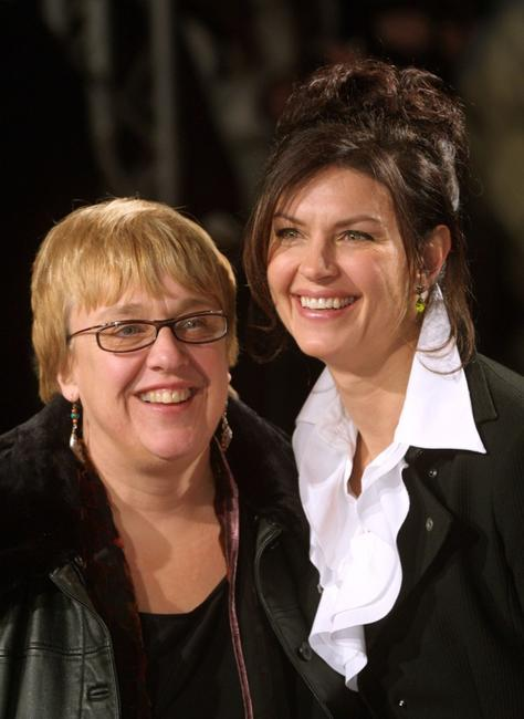Director Anne Wheeler and Wendy Crewson at the German premiere of