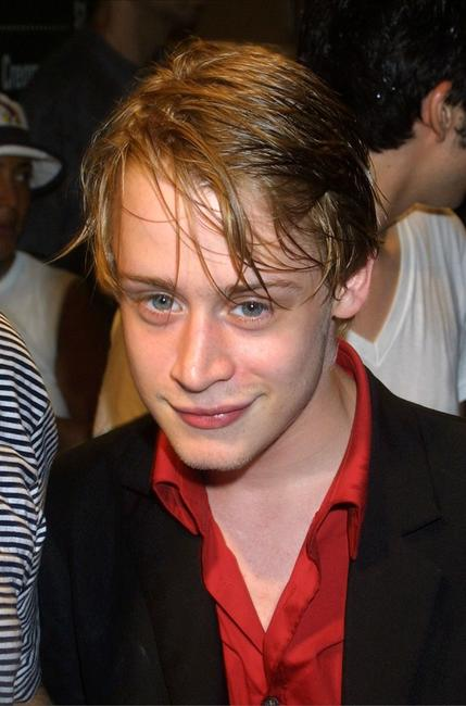 Macaulay Culkin at the New York opening night of