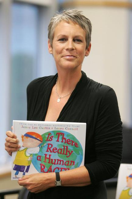 Jamie Lee Curtis at the book signing event for her book
