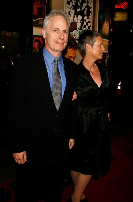 Jamie Lee Curtis and Christopher Guest at the Premiere Of
