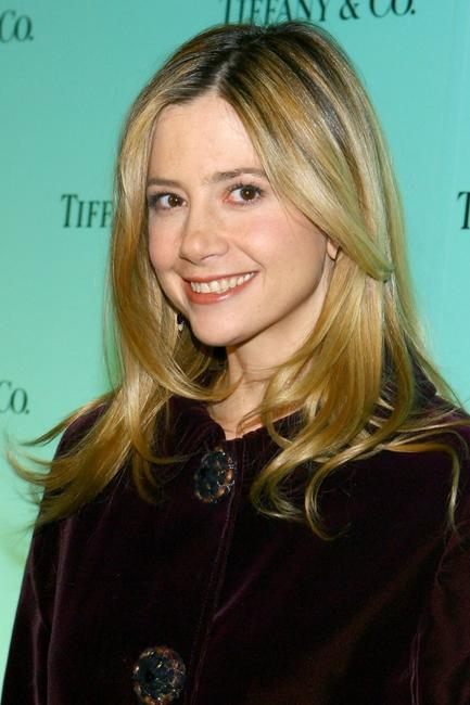 Mira Sorvino at the launch of The 2007 Blue Book Collection.