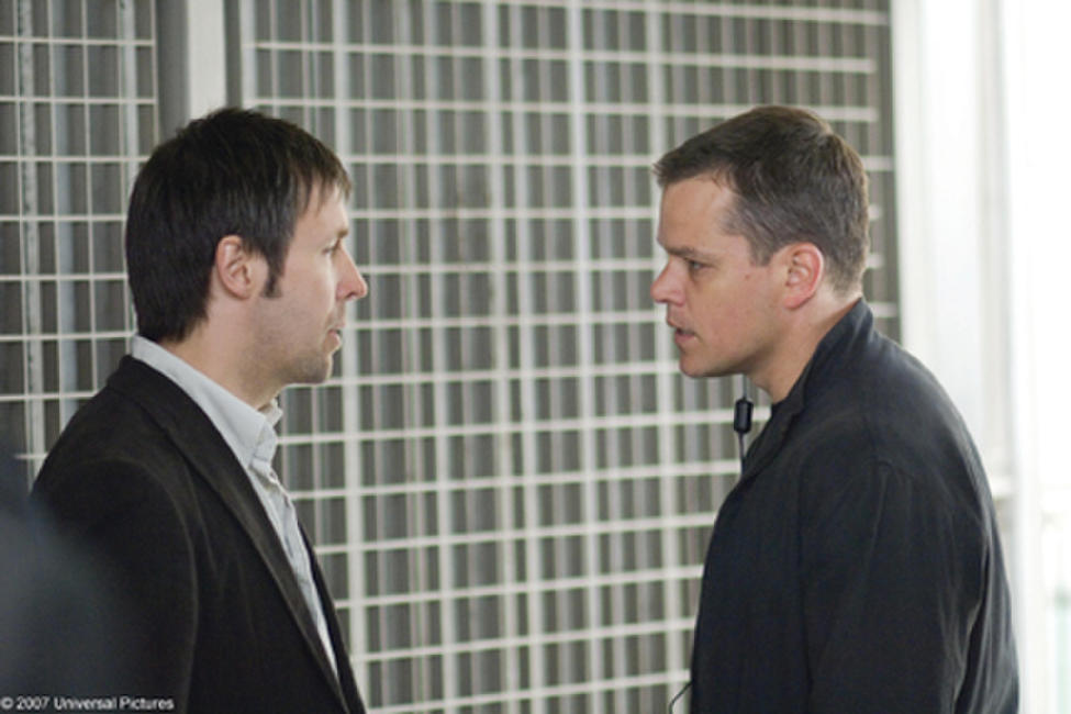 Paddy Considine and Matt Damon in