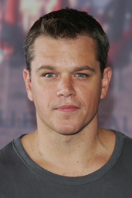 Matt Damon at the photocall of