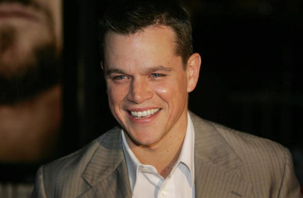 Actor Matt Damon at the N.Y. premiere of
