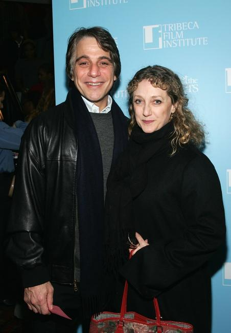 Tony Danza and Carol Kane at the screening of
